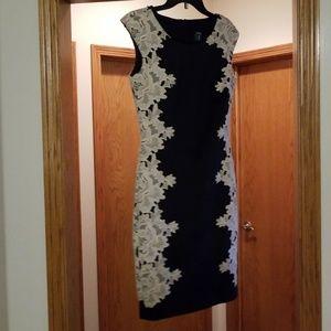 Excellent Condition JAX Black Dress